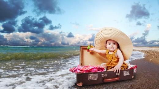 Что взять с собой, отправляясь в отпуск с детьми